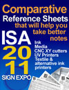 ISA 2011 UV Printers ScoreChart 11x17 Floor Plan