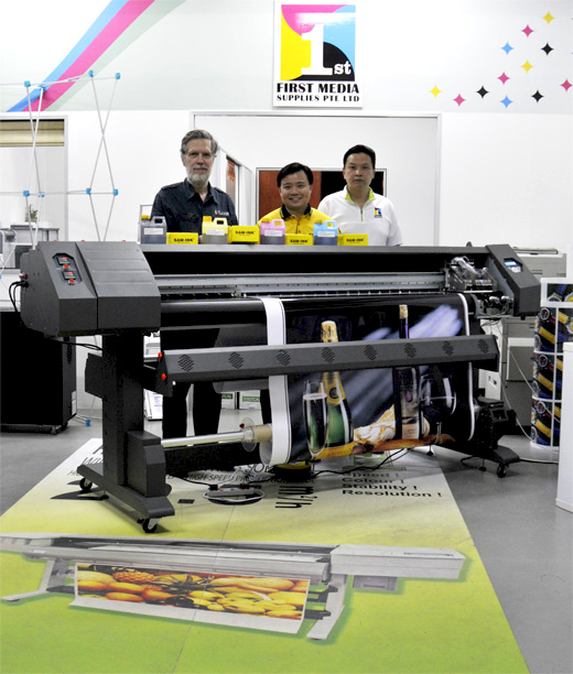 Epson, DX 5 printheads