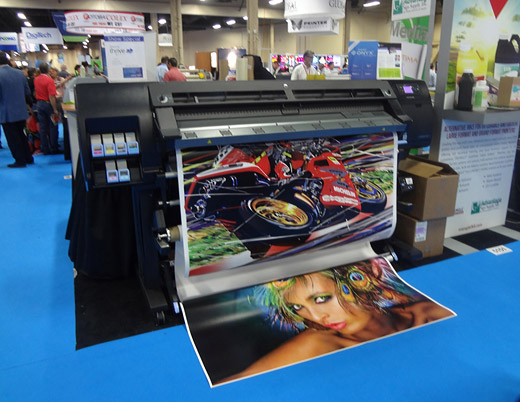 HP DesignJet L26500 at ISA 2013
