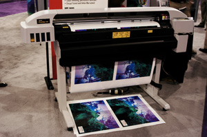 reviews Kodak Encad VinylJet 36 direct to vinyl