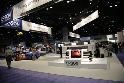 EPSON GS6000 Booth