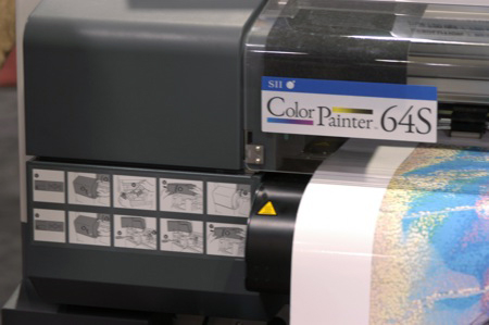 SII Color Painter 64S large format printer