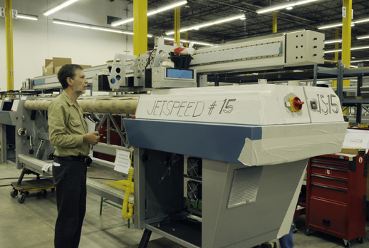 Image of Gandinnovations Jeti 3348 JetSpeed roll-to-roll dedicated UV-curable printer
