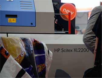 HP Scitex XL2200 roll-to-roll UV-cured printer