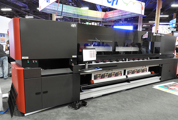 EFI VUTEk printer