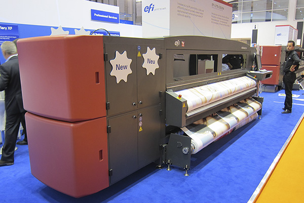 VUTEk GS3250r, FESPA, UV-curable roll-to-roll printers