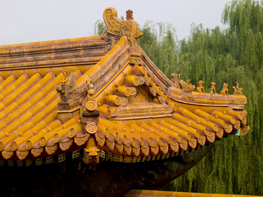 Beijing historical architecture imperial city