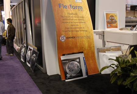 FlexForm UV-curable wide-format printer inks