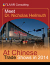 Meet Dr. Nicholas Hellmuth At Chinese Trade Show in 2013